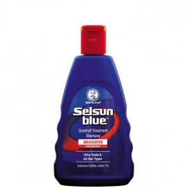 image of Selsun Blue Medicated Treatment Shampoo 120ml