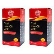 image of SEVEN SEAS COD LIVER OIL GOLD 2 x 100's
