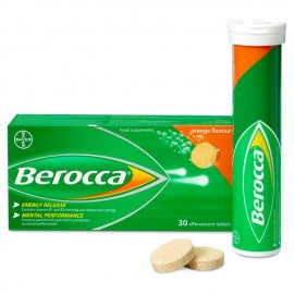 image of Berocca Orange Flavor Effervescent (30 tablets)