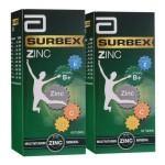ABBOTT SURBEX ZINC ENERGIZINC PACK 60S*2