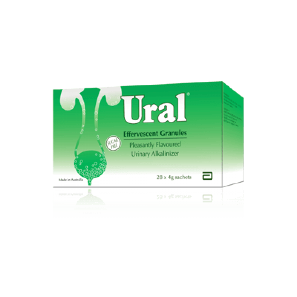 Abbott Ural Effervescent Granules 4g x 28S