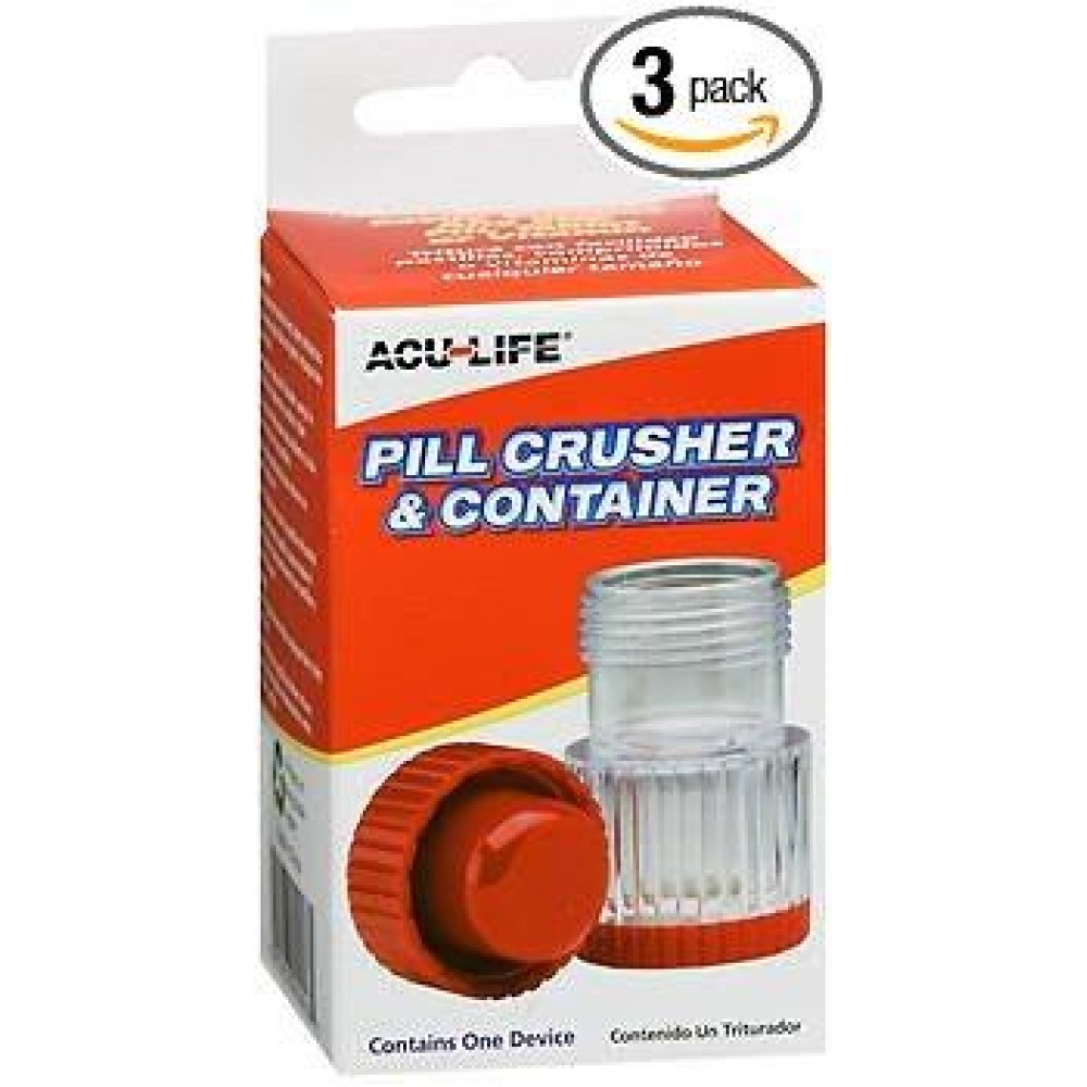Acu-Life (pill crusher and container)