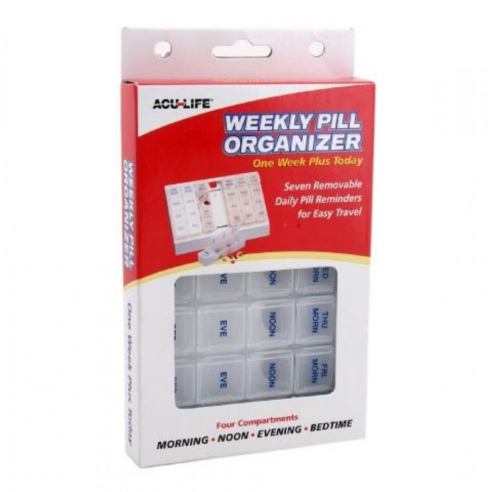 Acu-life weekly plus organizer( 28 compartments)