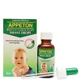image of APPETON MULTIVTAMIN PLUS INFANT DROPS