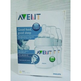 image of Avent PP Bottle Feeding 125mlx3 bottles