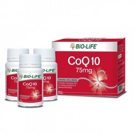 image of BIO-LIFE CO Q10 75MG 3X30S