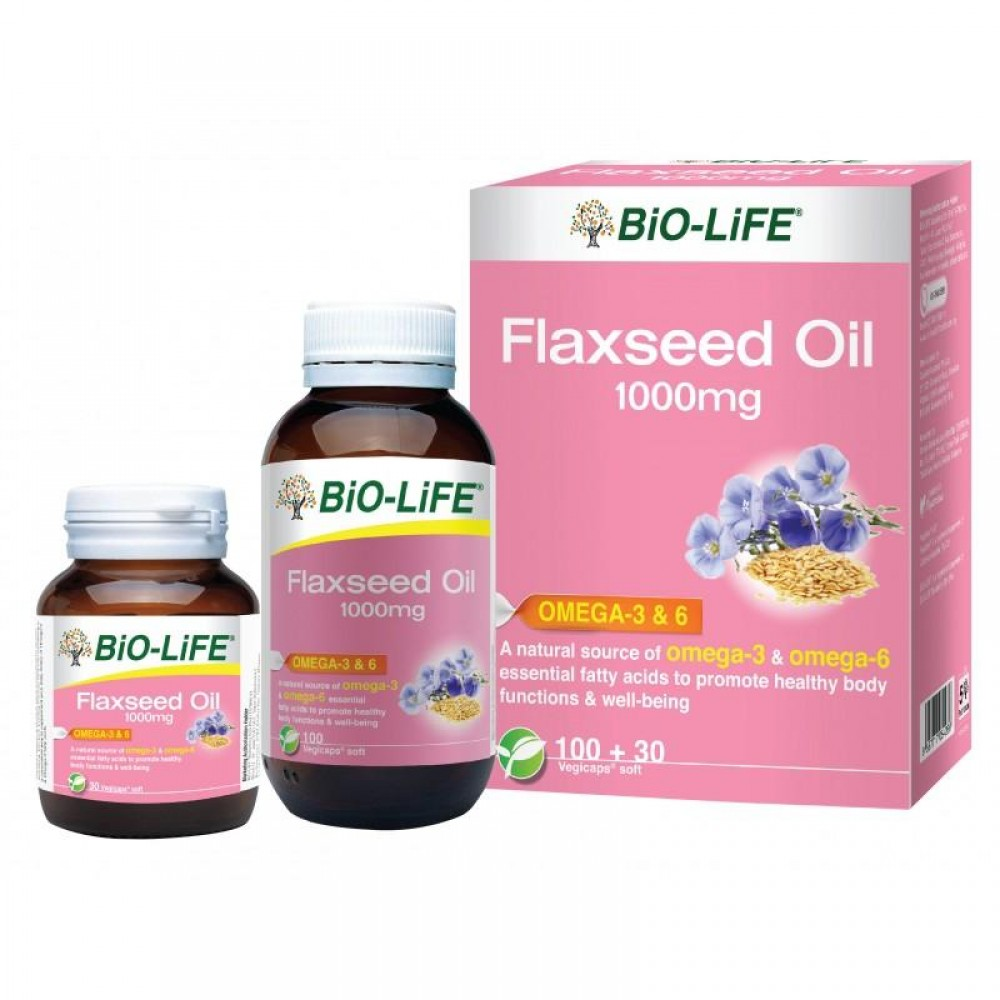 BIO-LIFE FLAXSEED OIL