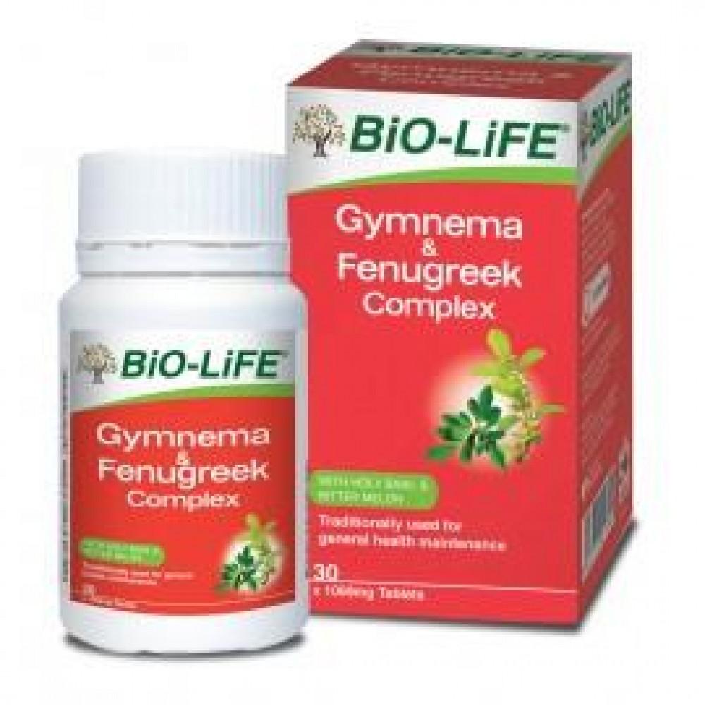BIO-LIFE GYMNEMA & FENUGREEK COMPLEX