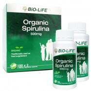 image of BIO-LIFE ORGANIC SPIRULINA 500MG