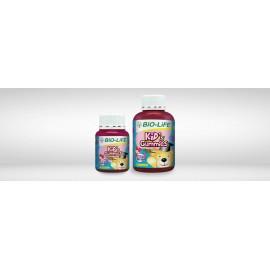 image of BIO-LIFE KIDS GUMMIES OMEGA 3 + DHA & EPA 60S
