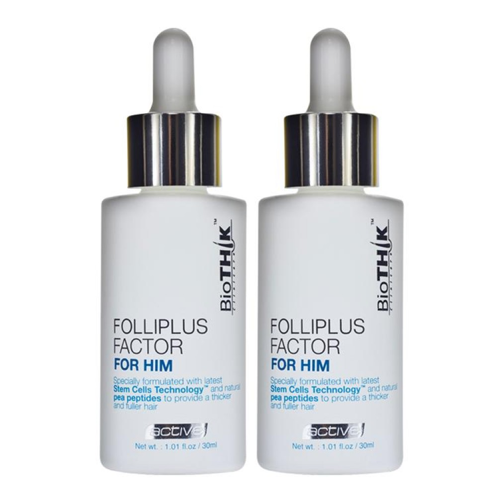 Biothik Active Folliplus Factor For Him 2x30ml
