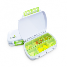 image of 6-Compartments Damp-Proof Pill Box