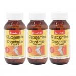 Kordels Glucosamine Plus Chondroitin 500/400 90capx3 bottles