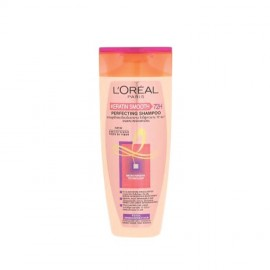 image of LOREAL PARIS KERATIN SMOOTH PERFECTING SHAMPOO 170ML