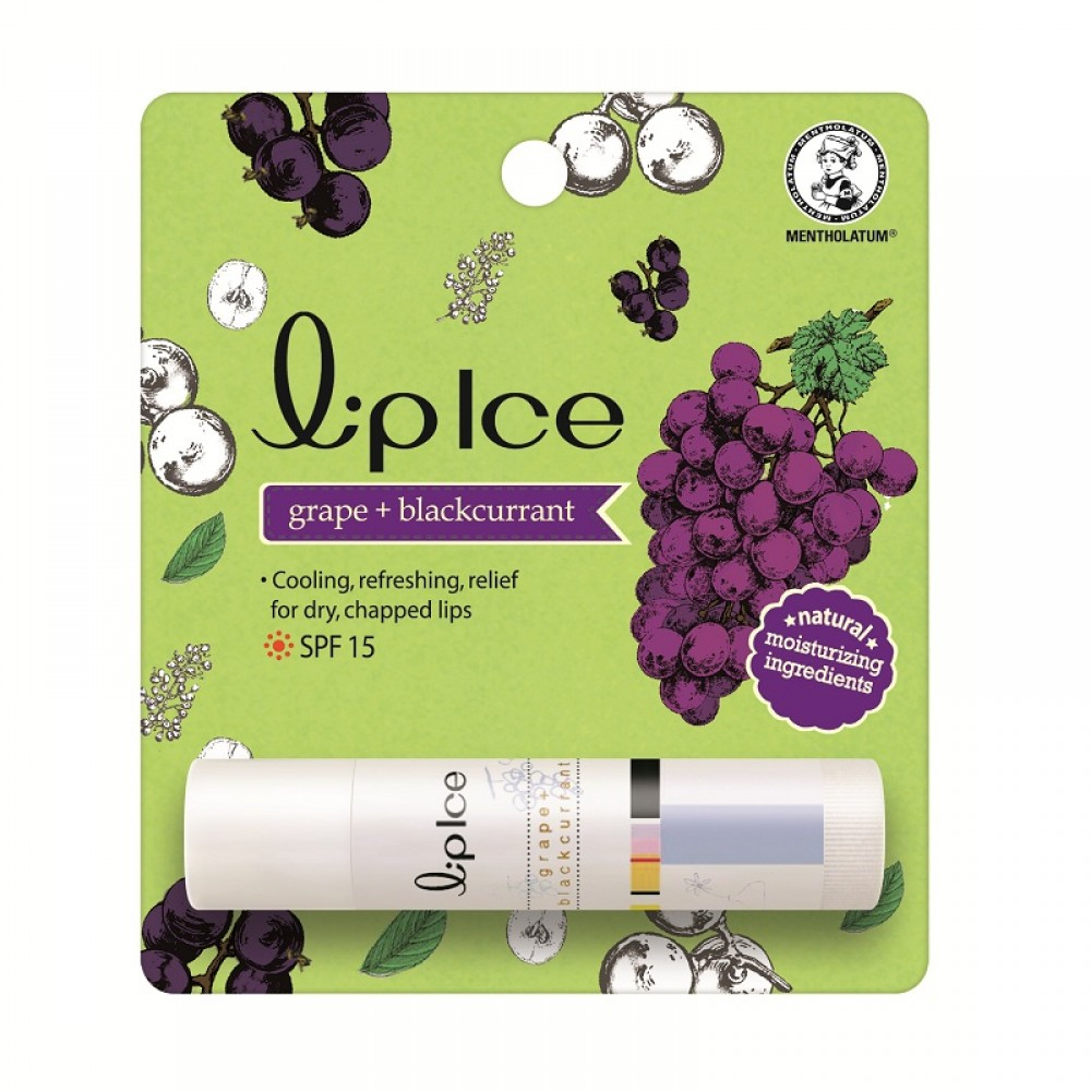 LipIce Fruity Grape+Blackcurrant 3.5g