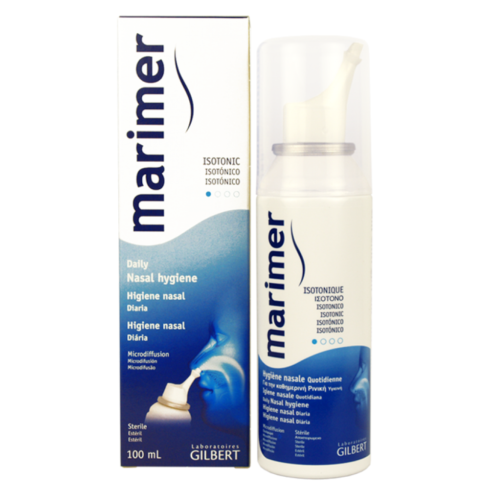 Marimer Isotonique Nasal Hygiene Spray 100ml