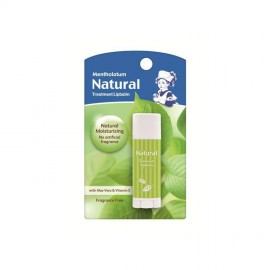 image of Mentholatum Natural Treatment Lipbalm 3g