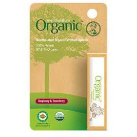 image of Mentholatum Organic Lip Balm (respberry and strawberry)