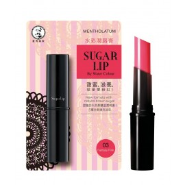 image of Mentholatum Sugar Lip By Water Colour 03 Kissy Pink