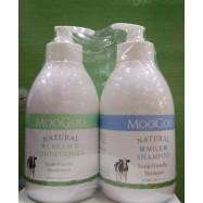 image of MooGoo Hair Care Combo (Conditioner+Shampoo)500ml+500ml