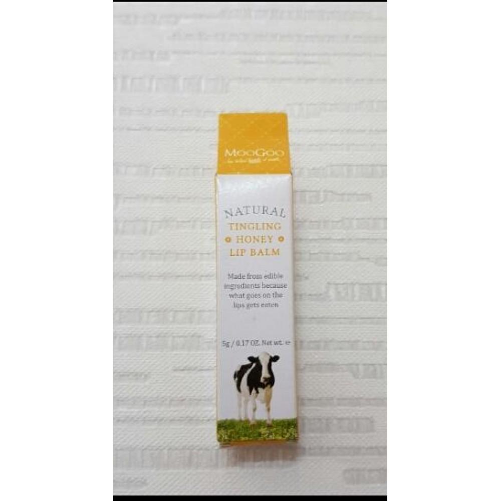 MooGoo Natural Tingling Honey Lip Balm