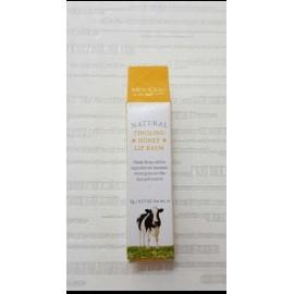 image of MooGoo Natural Tingling Honey Lip Balm