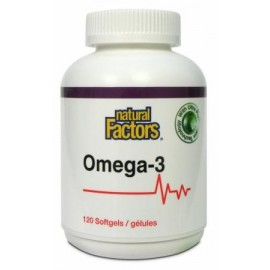 image of NATURAL FACTORS OMEGA-3 120S
