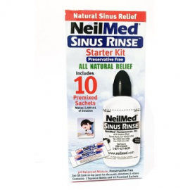 image of Neilmed Sinus Rinse Starter Kit 10s