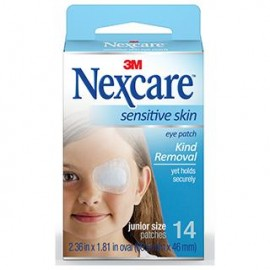 image of Nexcare Sensitive Skin Junior Eye Patch 14s