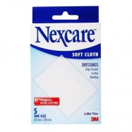 image of Nexcare Soft Cloth Dressing 5s