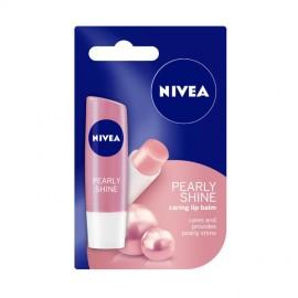 image of Nivea Pearly Shine Lip Balm 4.8g