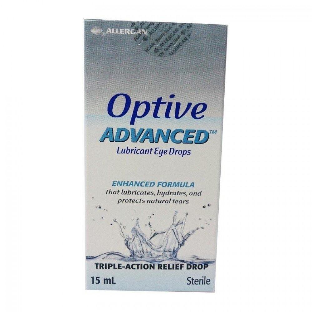 Optive Advanced Lubricant Eye Drops 15ml