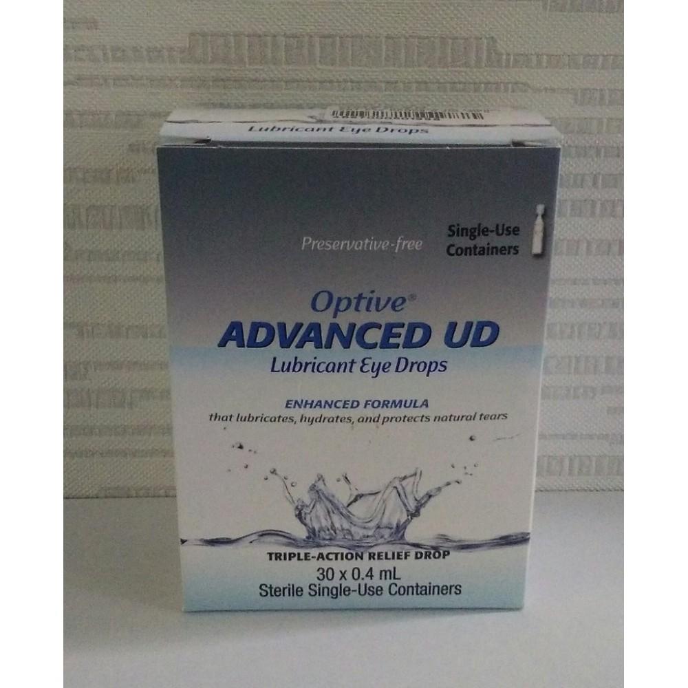 Optive Advanced UD Lubricant Eye Drops 0.4mlx30s