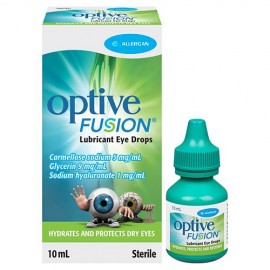 image of Optive Fusion Lubricant Eye Drops 10ml