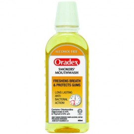 image of Oradex Alcohol Free (Smokers Mouthwash) 400ml