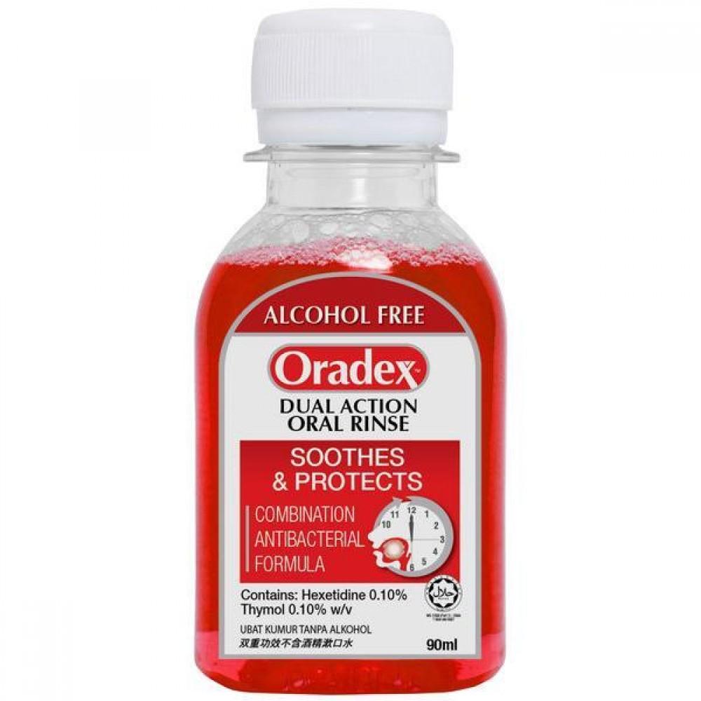 Oradex Dual Action Oral Rince 90ml