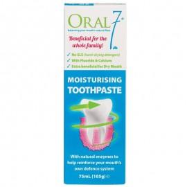 image of Oralseven Moisturising Toothpaste 75ml