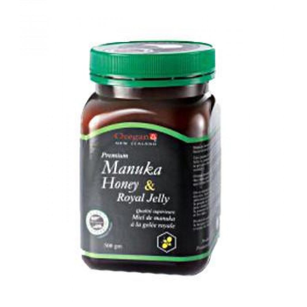 OREGAN MANUKA HONEY & ROYAL JELLY 500GM