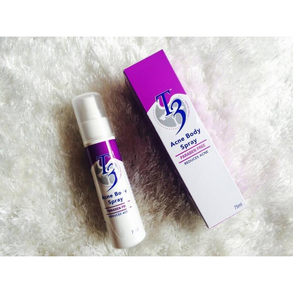 T3 Acne Body spray 75ml