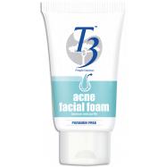 image of T3 Acne Facial Foam 100g Paraben Free