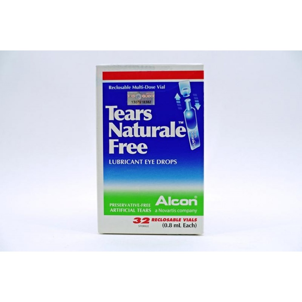 Tears Naturable Free Lubricant Eye Drops 32's
