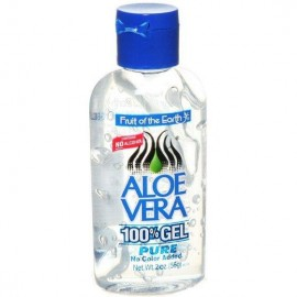 image of Fruit of the Earth Aloe Vera 100% Gel 2oz (56g)