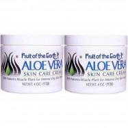 image of Fruit of the Earth Aloe Vera Skin Care Cream 2 x 113g