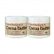 image of Fruit of the Earth Cocoa Butter w/ Aloe & Vitamin E SkinCare Cream 2 x 113g
