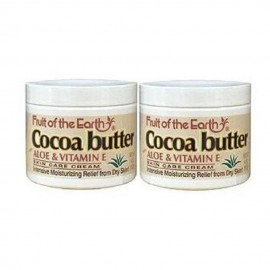 image of Fruit of the Earth Cocoa Butter w/ Aloe & Vitamin E SkinCare Cream 2 x 113g