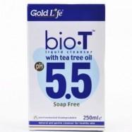 image of  GoldLife Bio T Liquid Cleanser pH 5.5 (soap free) 250ML