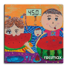 image of Rossmax WB100 Glass Personal Scale - Super Slim / Electronic