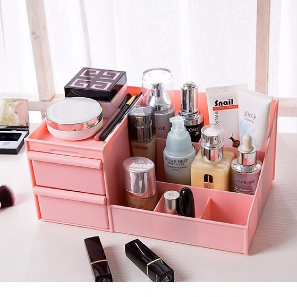 Storage Box Table Top Make Up Organization Dressing Table Cosmetic
