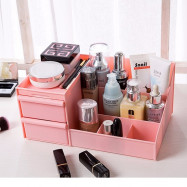 image of Storage Box Table Top Make Up Organization Dressing Table Cosmetic