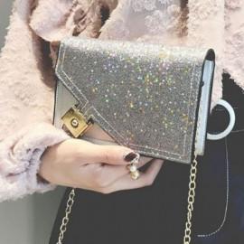 image of Korean Fashion sling bag bling bling chic chain sequins